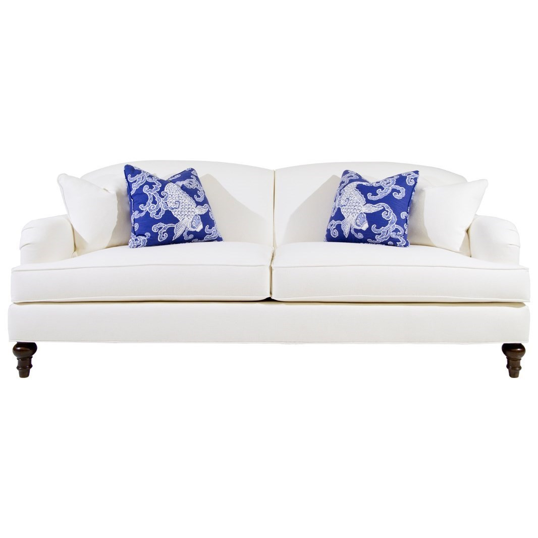 Clifton Sofa with Pleated Arms