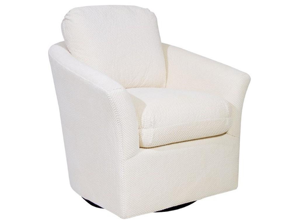 Century Studio Essentials UpholsteryMill Valley Swivel Chair