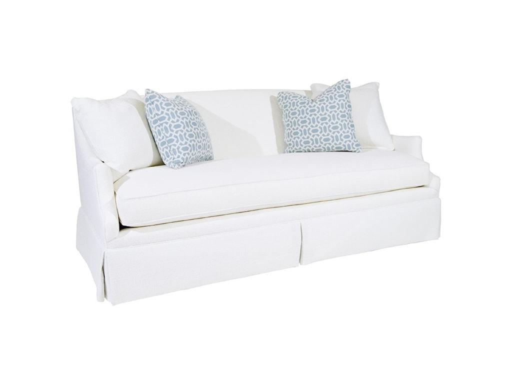 Century Studio Essentials UpholsteryEnzo Skirted Sofa