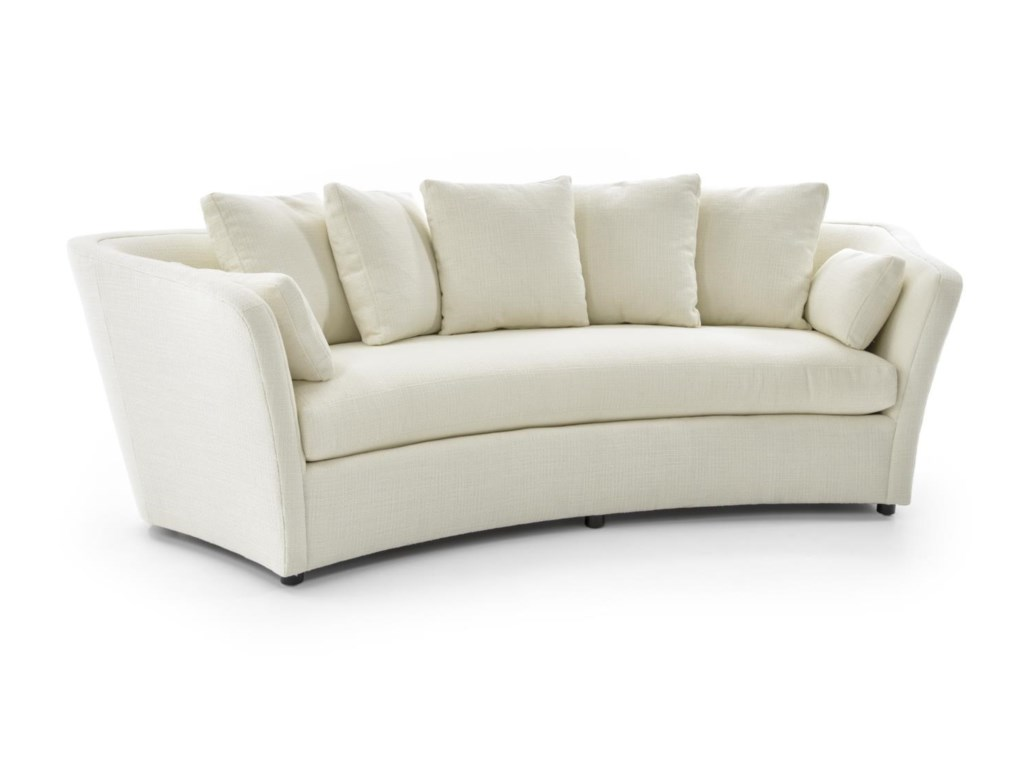 Century Studio Essentials UpholsteryCurved Sofa