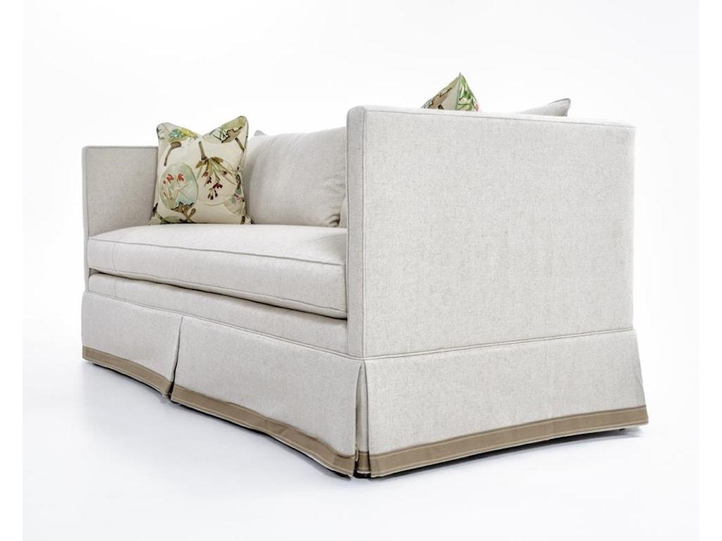 Century Studio Essentials UpholsteryRene Skirted Sofa
