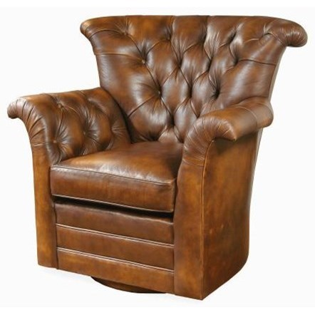 Century Swivel Chairs CenturyTufted Back Swivel Chair