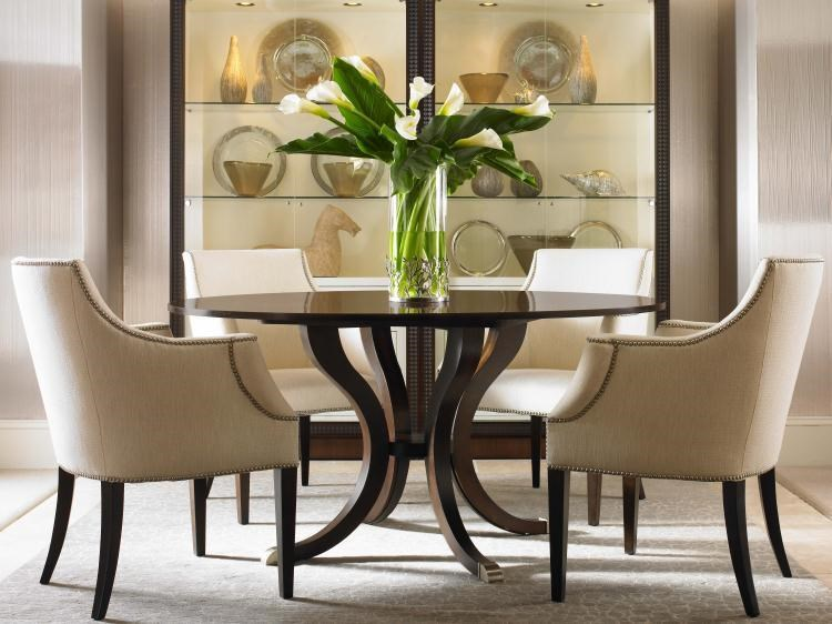 Shown with Upholstered Dining Chairs