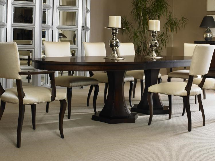 Shown with Side Chairs and Double Pedestal Table