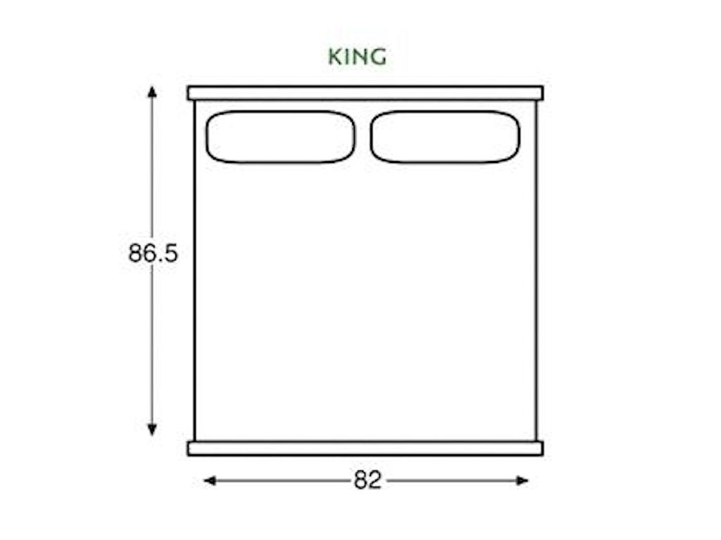 Century Omni6/6 King Bed