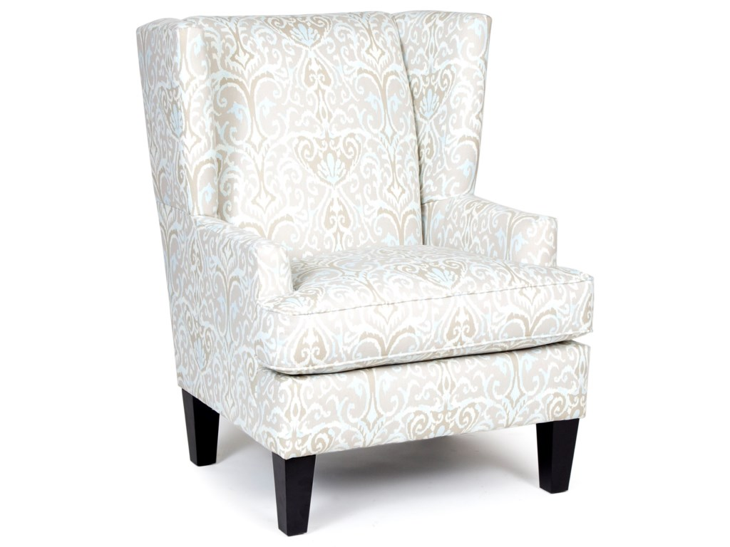 Chairs America Accent Chairs and OttomansTransitional Wing Chair