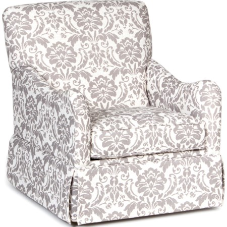 Traditional Glider Accent Chair