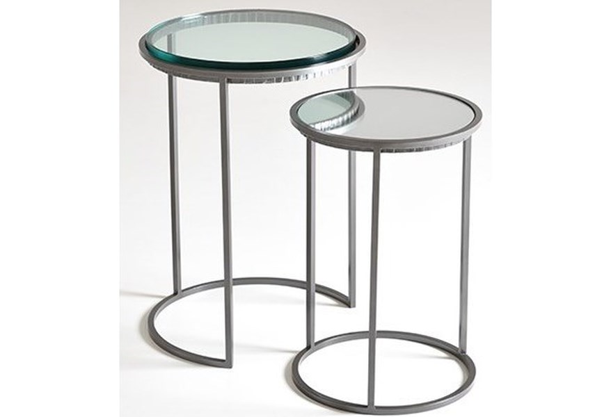 Charleston Forge Dining Room Accents Carolina Nesting Tables Jacksonville Furniture Mart End Tables