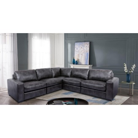 Modular 5-Piece Sectional