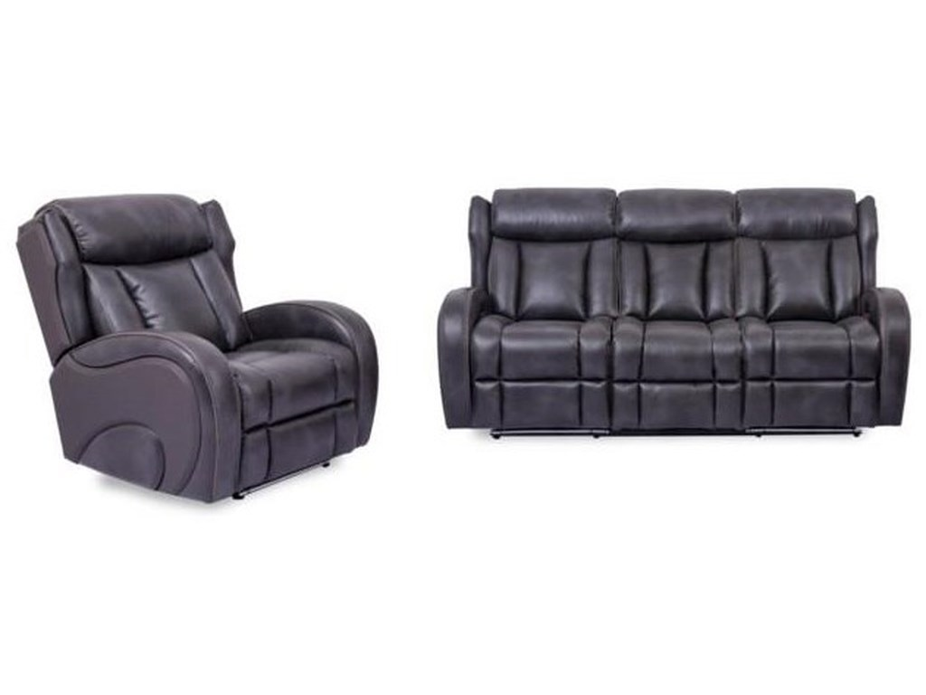 Cheers 700832 PC Power Reclining Living Room Set