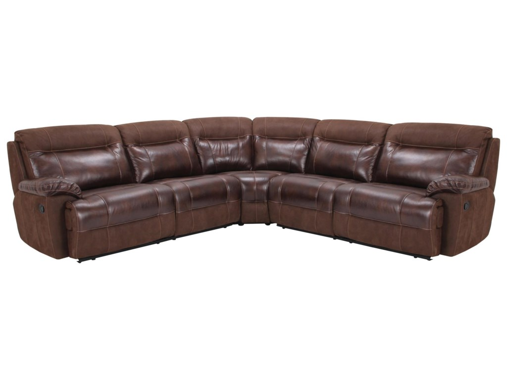 Cheers 23062Reclining Sectional