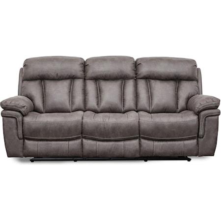 Wallhugger Dual Power Reclining Sofa