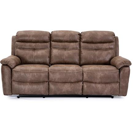Wallhugger Dual Reclining Sofa