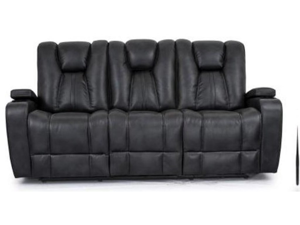 Cheers 9990MReclining Sofa with Drop Down Table