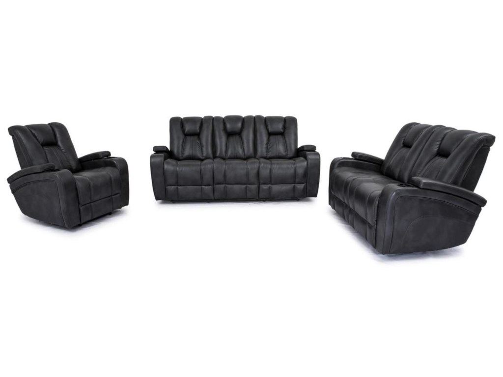 Cheers 9990M3 PC Reclining Living Room Set