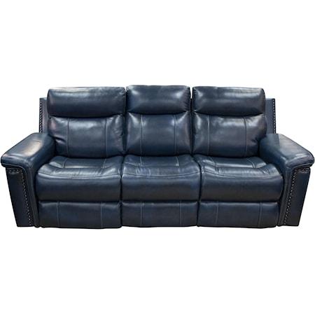 Baxter Leather Power Sofa