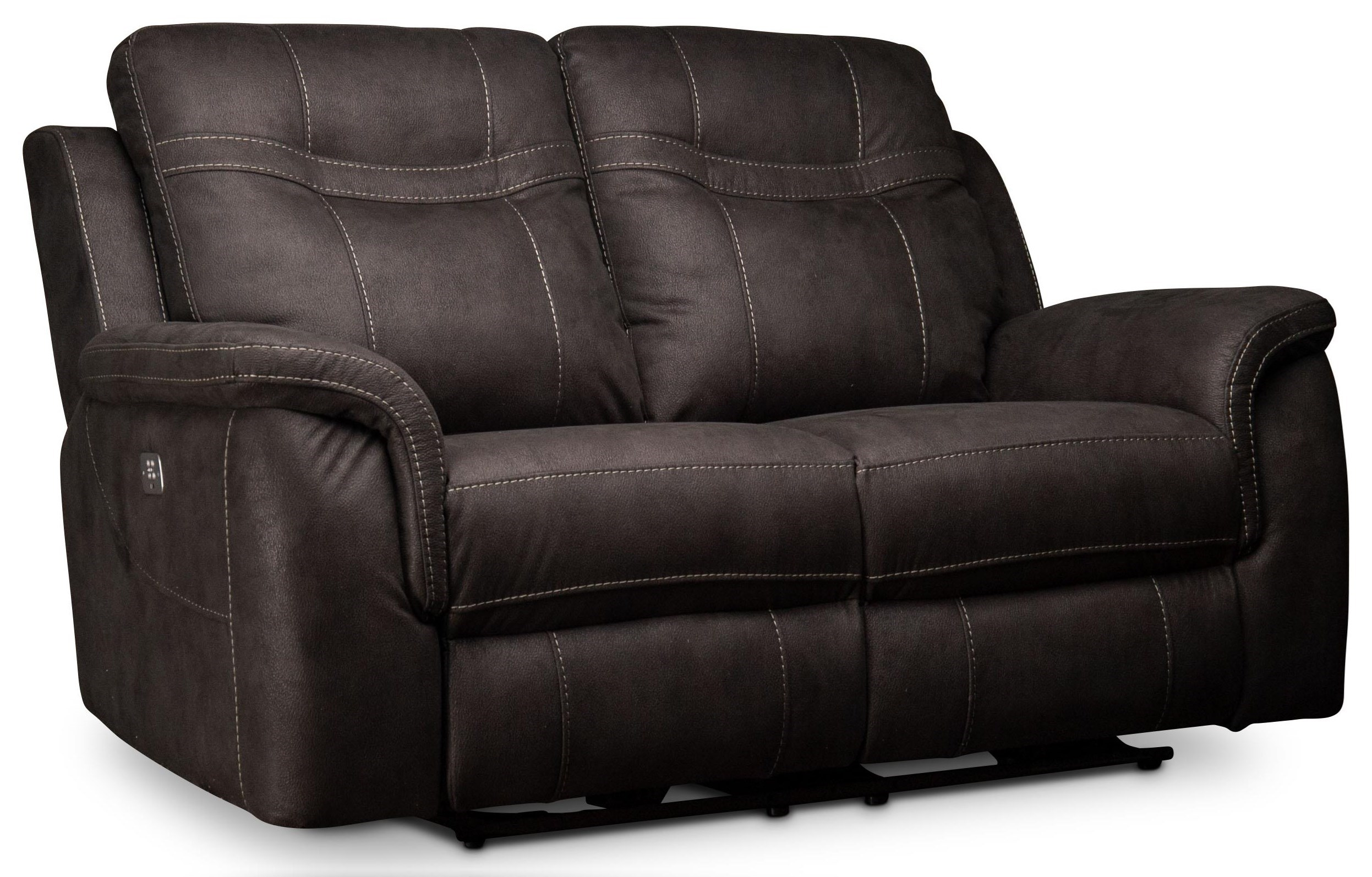 Power Reclining Loveseat with Power Head Rest