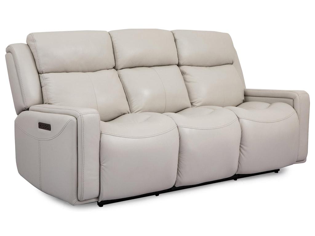 Cheers GenevaLeather Power Reclining Sofa