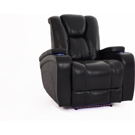 Power Recliner w/ Power Headrest