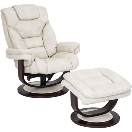 Liam Reclining Chair and Ottoman