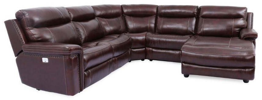 Morris Home MckenzieMckenzie Power Sectional Sofa