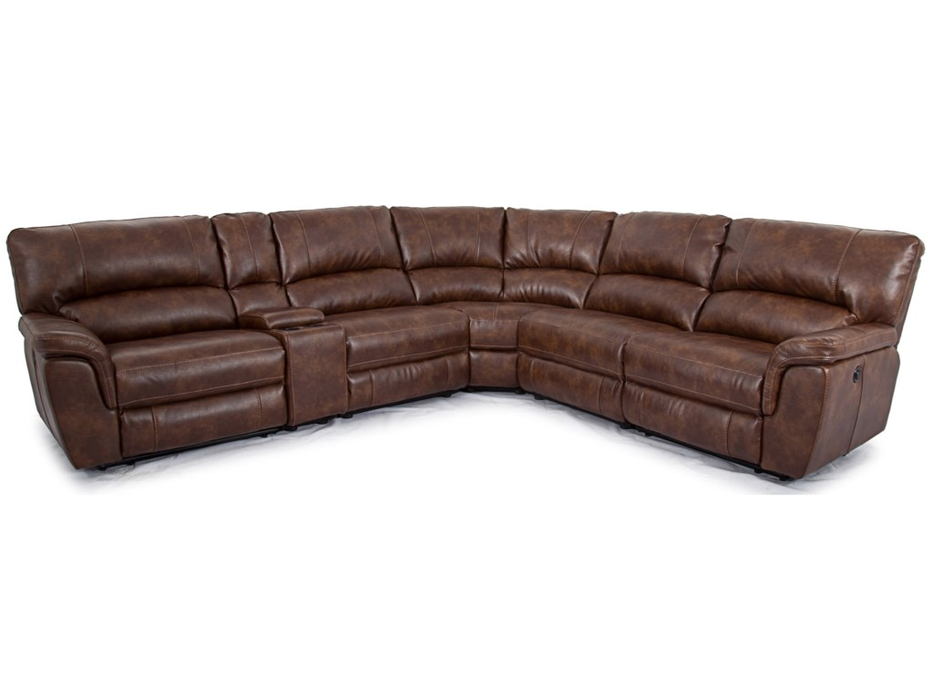 Cheers Sofa 1023Power Reclining Sectional