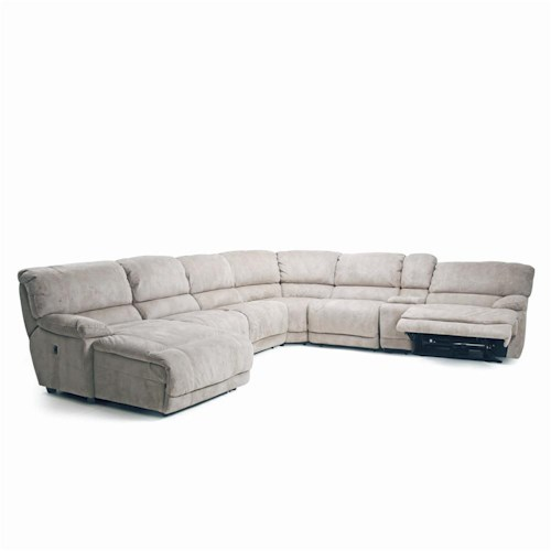 recliner corner groups choices ii 8532 modular reclining sectional power option