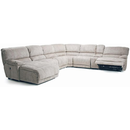 Cheers Sofa Choices II 8532 Modular Reclining Sectional (POWER Option)
