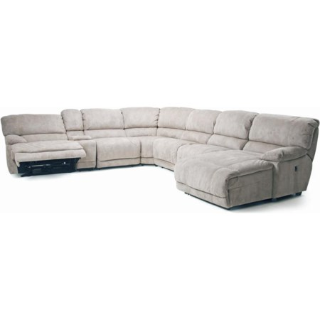 Choices II Modular Reclining Sectional