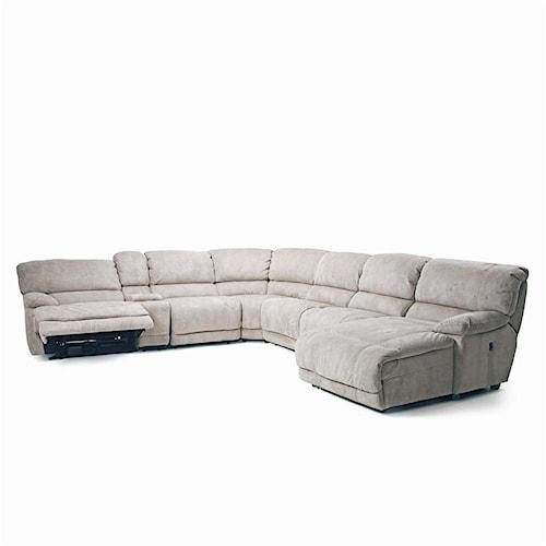Cheers Sofa Choices II 8532 Modular Reclining Sectional (POWER Option)