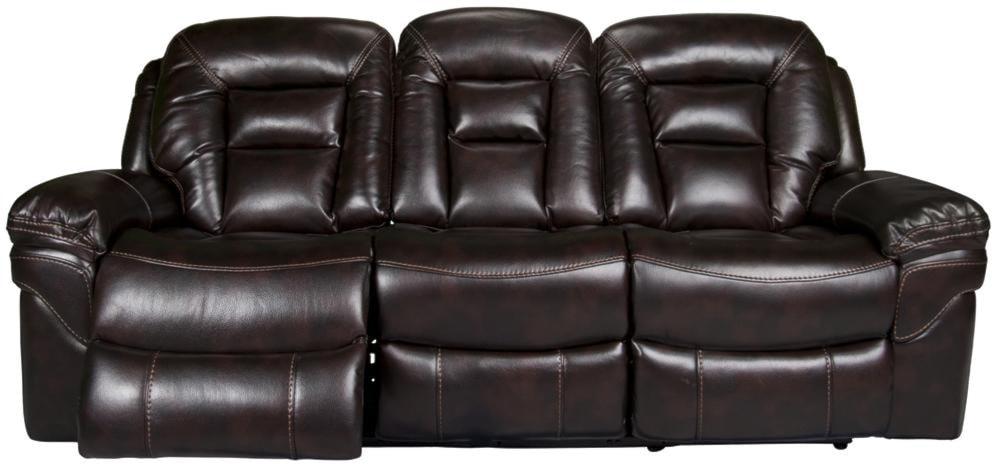 Morris Home DerekDerek Power Leath-aire Reclining Sofa
