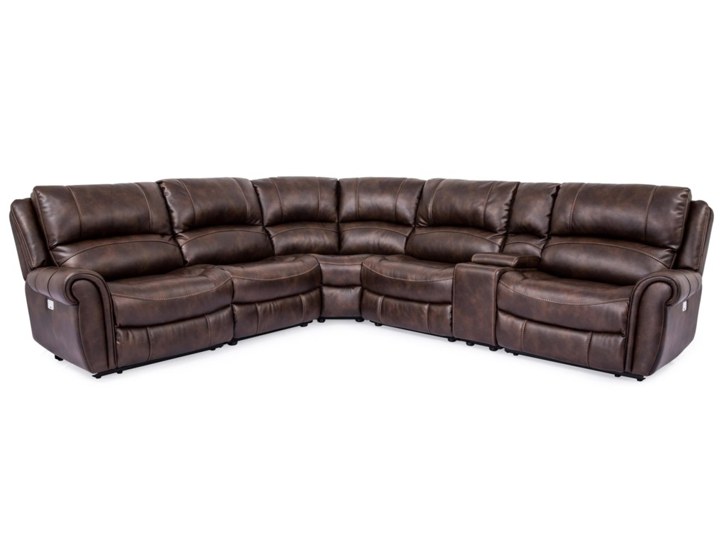 Cheers 5175MPower Reclining Sectional