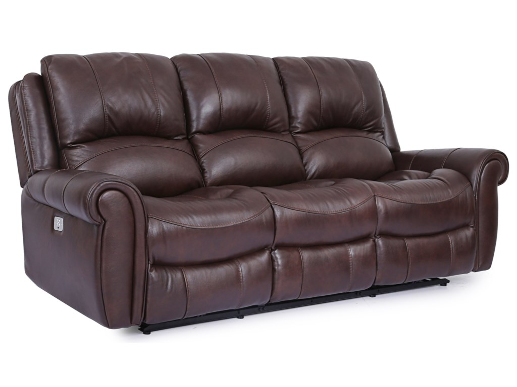 Cheers McCarthy LeatherPower Reclining Sofa