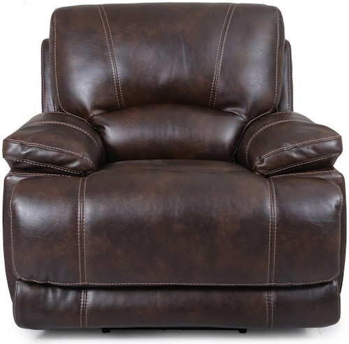 Cheers Sofa Shelton Power Recliner with Power Headrest