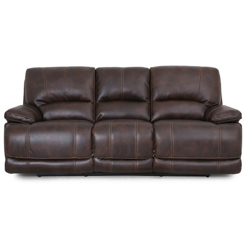 Warehouse M 5185 Dual Power Motion Sofa with Power Headrests