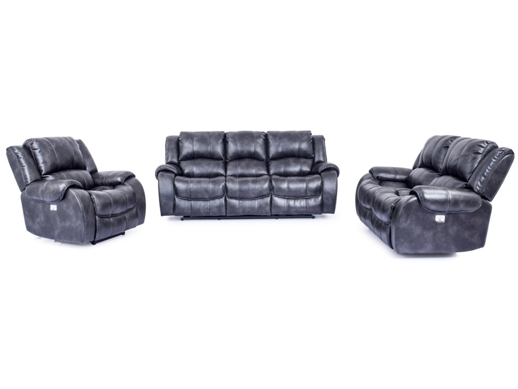 Cheers Sofa 5233HMPower Recliner with Power Headrest