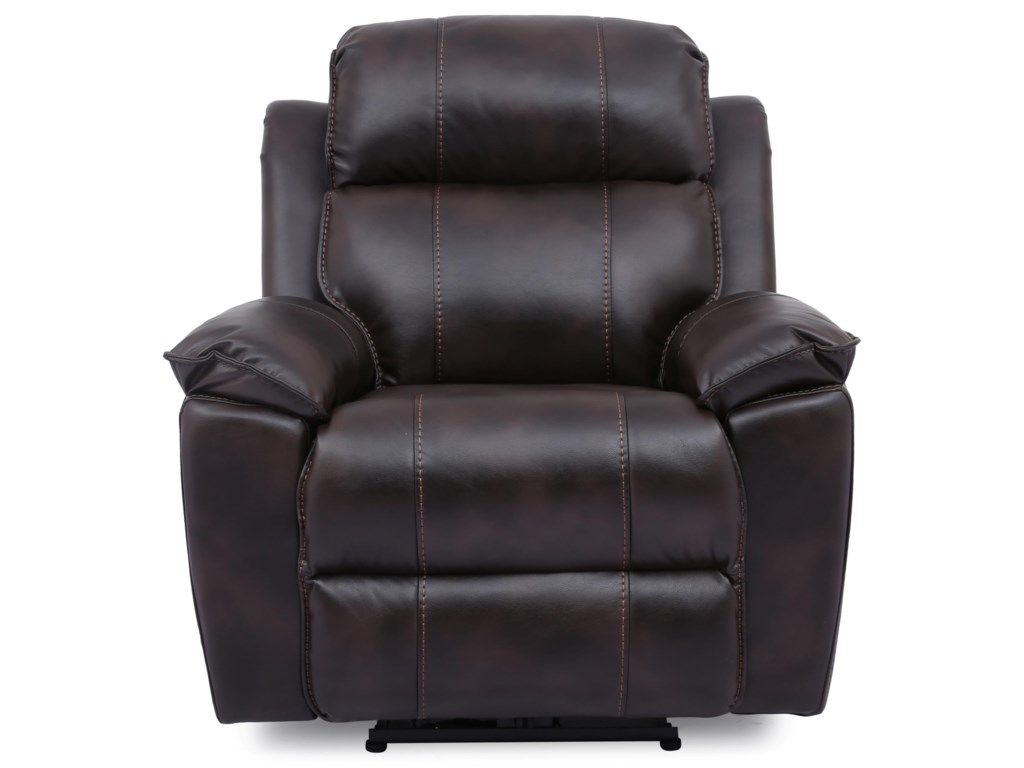 Cheers HudsonPower Leather Recliner
