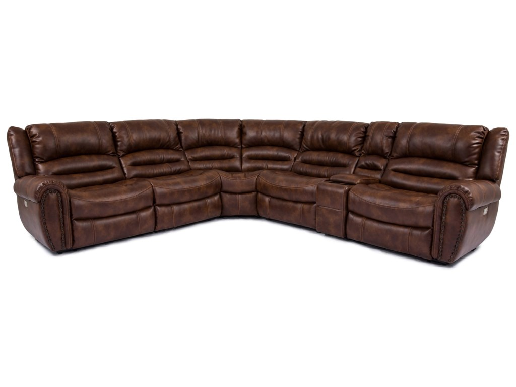 Cheers BannerPower Reclining Sectional