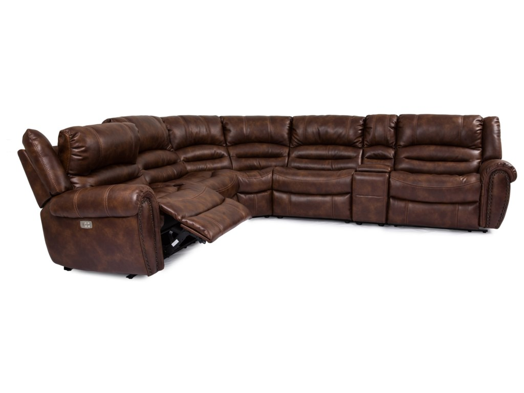 Cheers Sofa UXW8295MPower Reclining Sectional