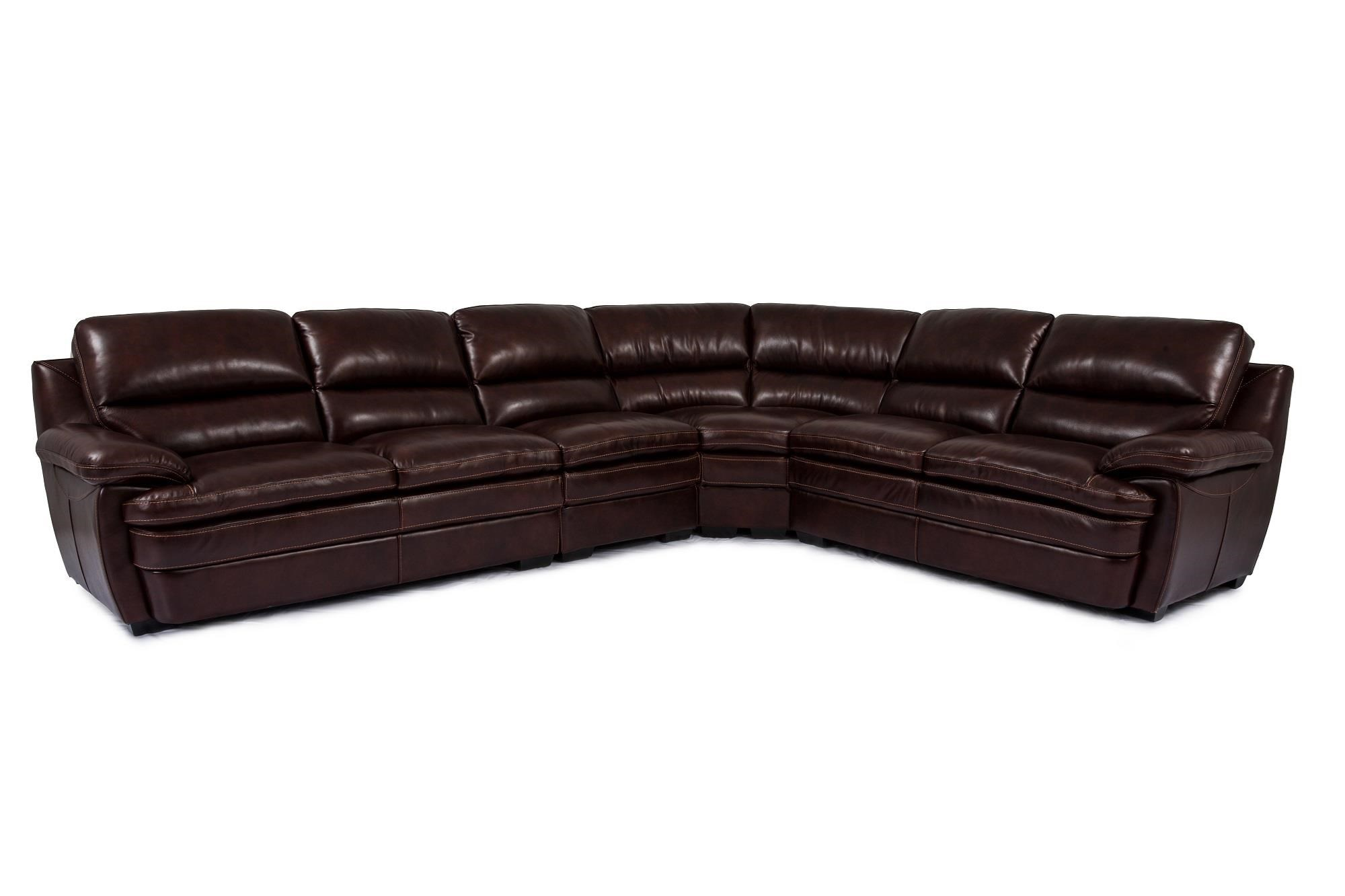 Cheers Sofa Trent Leather 3 Piece Sectional - Great American Home Store - Sectional Modular Components  sc 1 st  Great American Home Store : cheers sectional sofa - Sectionals, Sofas & Couches