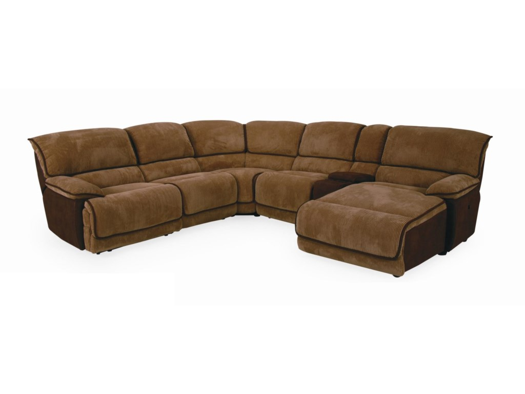 Cheers 8706MCasual Sectional Sofa