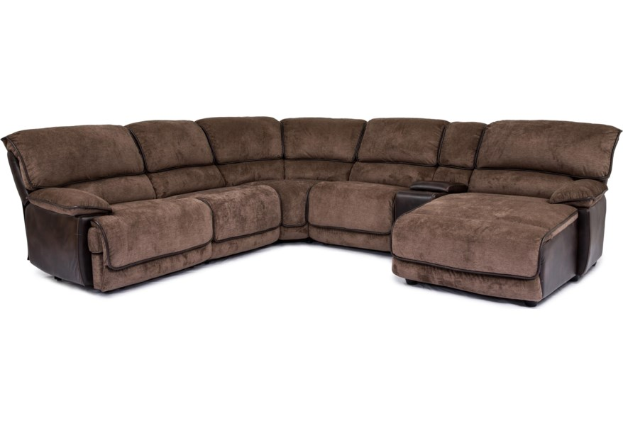 Cheers 8706m Casual Sectional Sofa