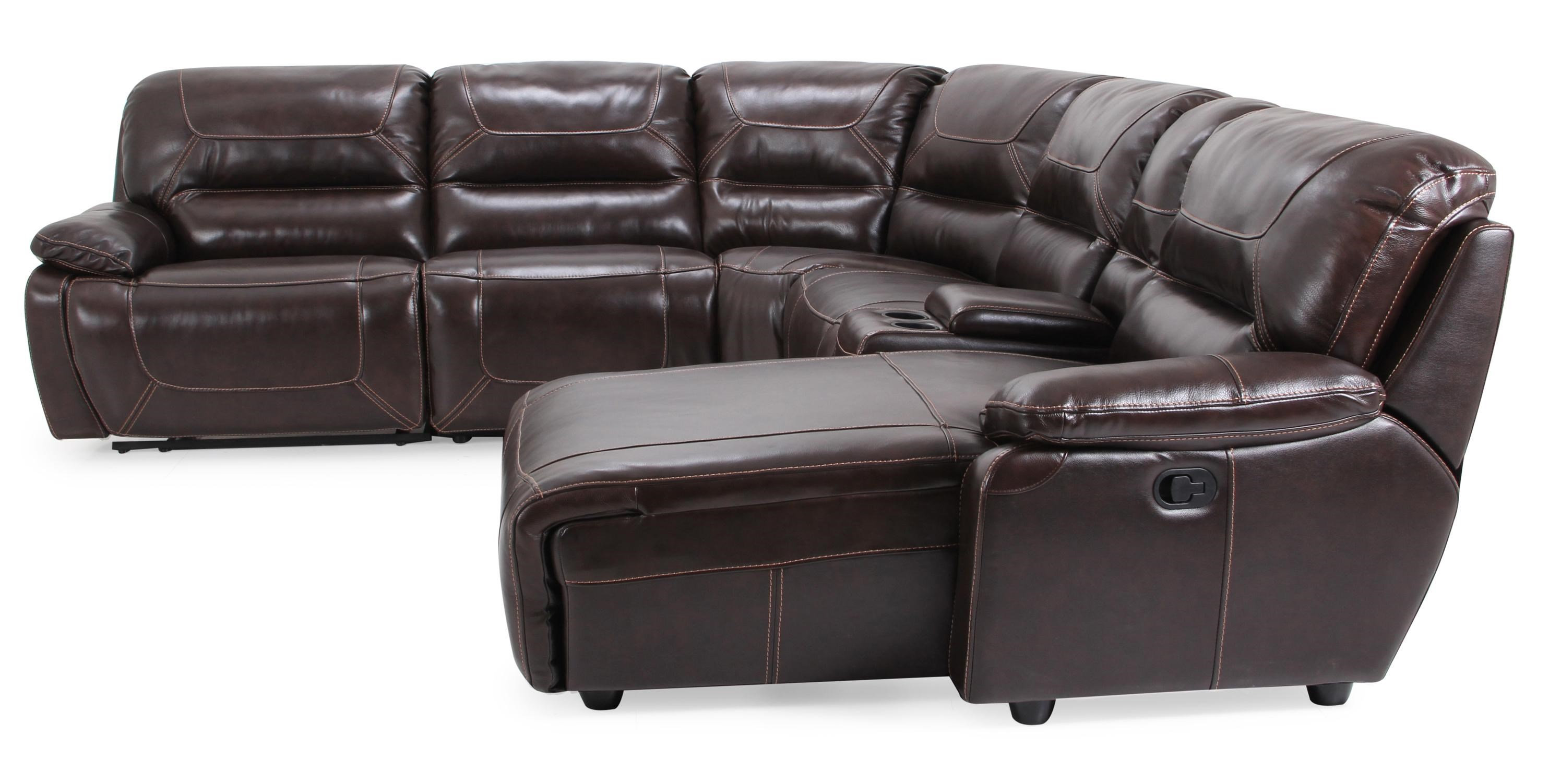 RXW9160M Casual 6-piece Reclining Sectional with RAF Chaise by Cheers Sofa  sc 1 st  Becku0027s Furniture : cheers sectional - Sectionals, Sofas & Couches