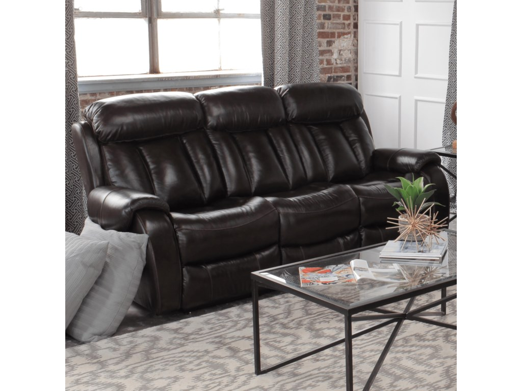 Cheers Pearce LeatherDouble Reclining Sofa