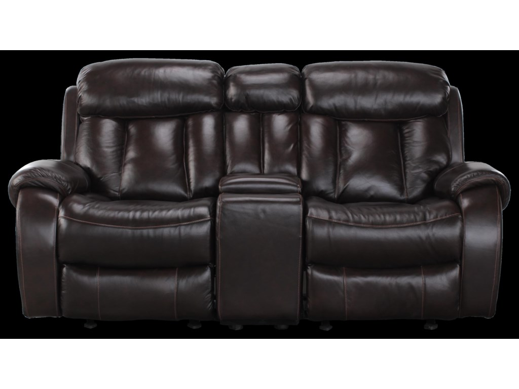 Cheers Sofa PearceReclining Loveseat with Console