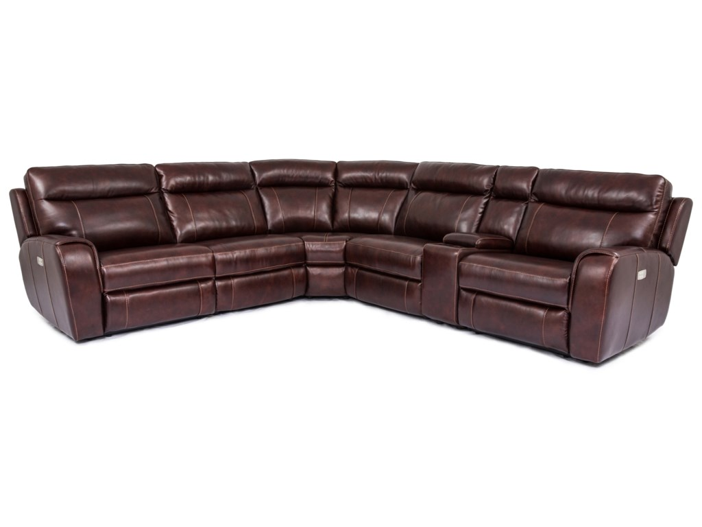 Warehouse M 9868Power Reclining Sectional