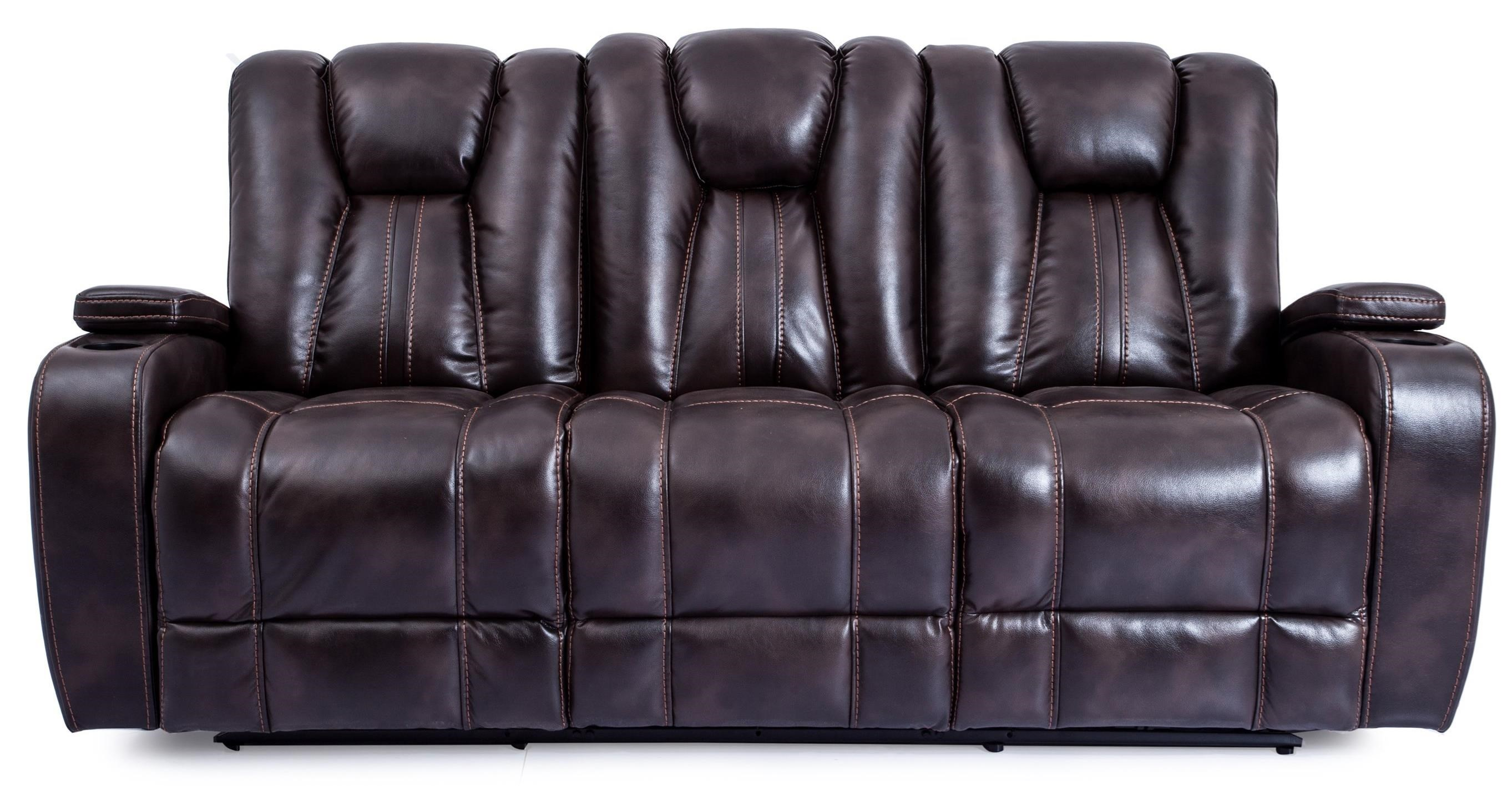 Cheers Sofa 9990M Power Reclining Sofa With Lights