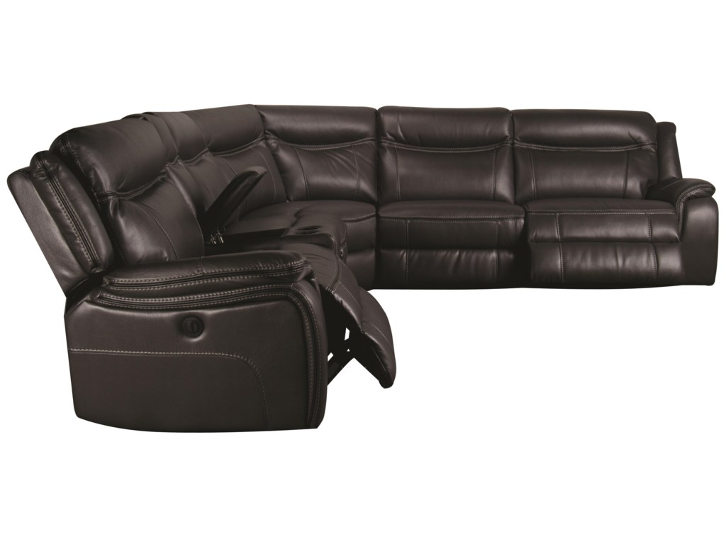 Morris Home CurtisCurtis 6-Piece Power Sectional