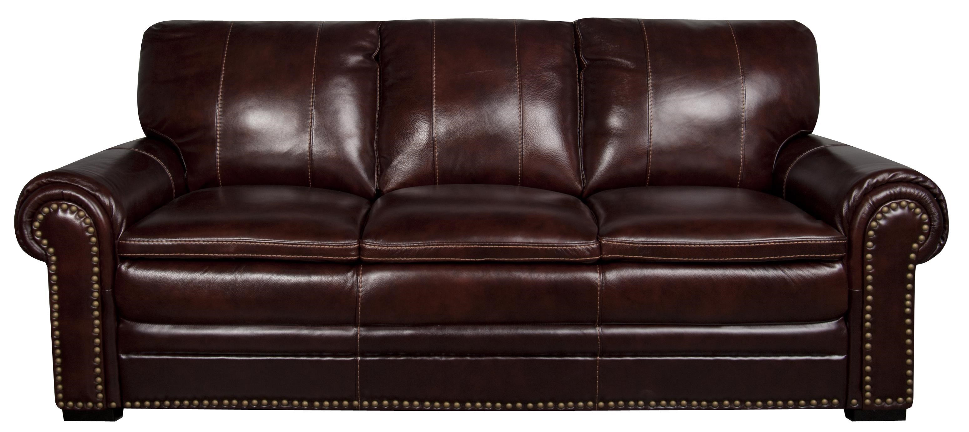 Morris Home ElwoodElwood Leather Match Sofa ...