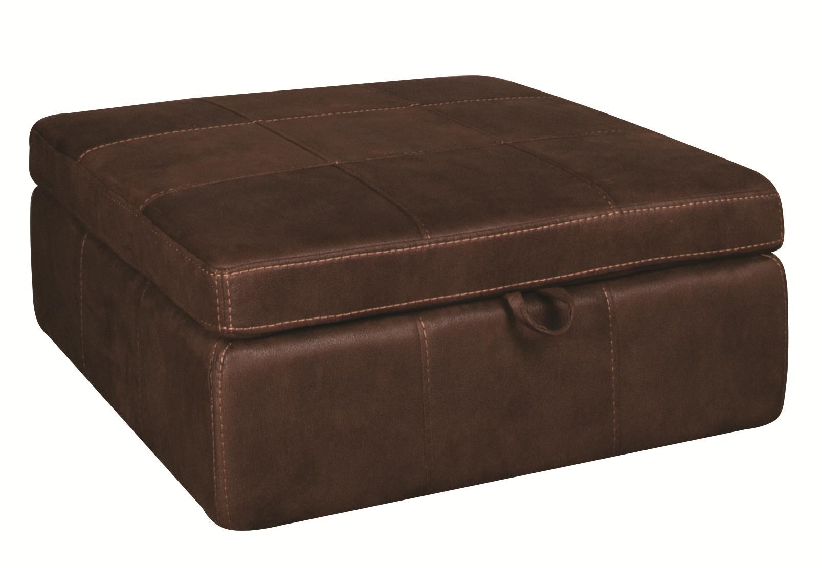 Morris Home GaryGary Storage Ottoman With Casters ...